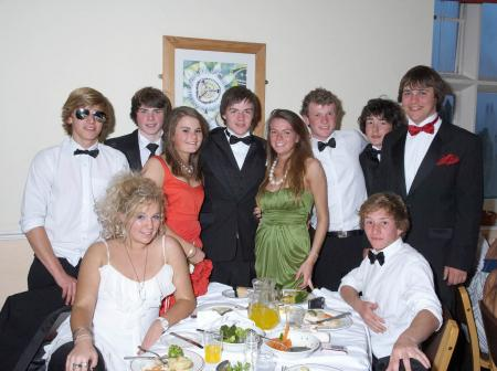 Photos from the Taunton School Year 11 Prom, 2009, held on 23 May 2009