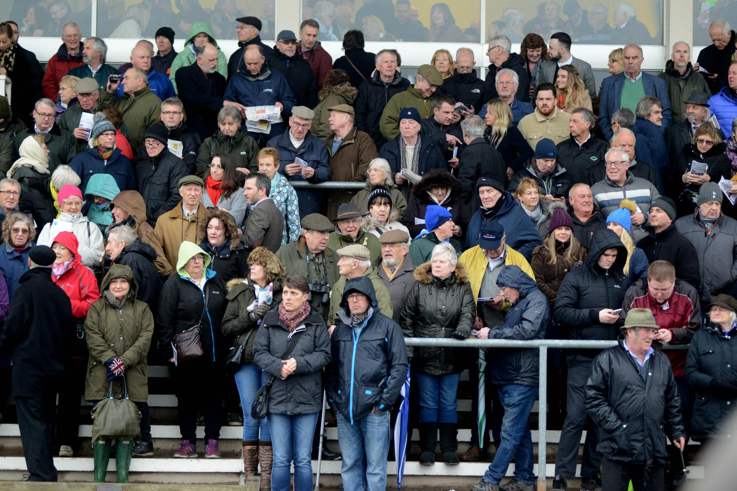TURNOUT: Another big crowd is expected at Taunton Racecourse this Sunday.