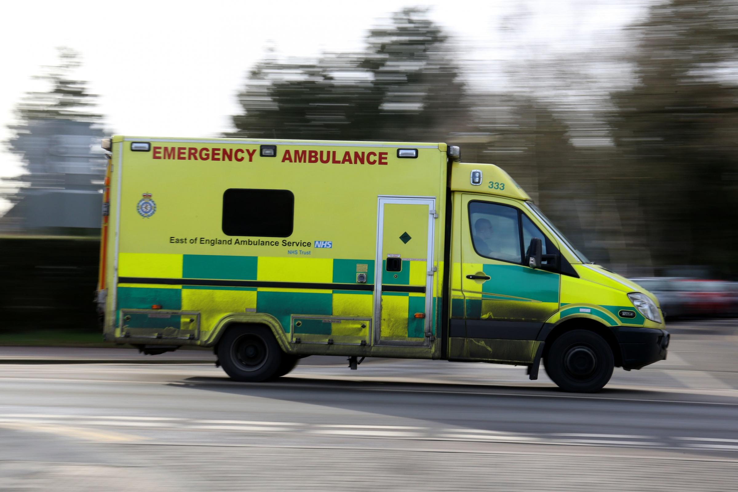 Appeal for witnesses after vehicle tailgated ambulance near Crowcombe