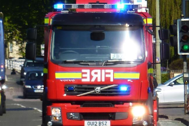 'My shower's on fire' - fire crew tackle house blaze