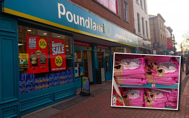ON SALE: At Poundland Taunton