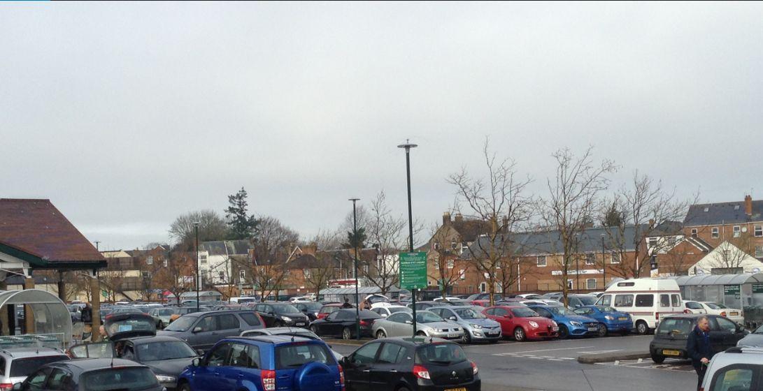 Castle place car park