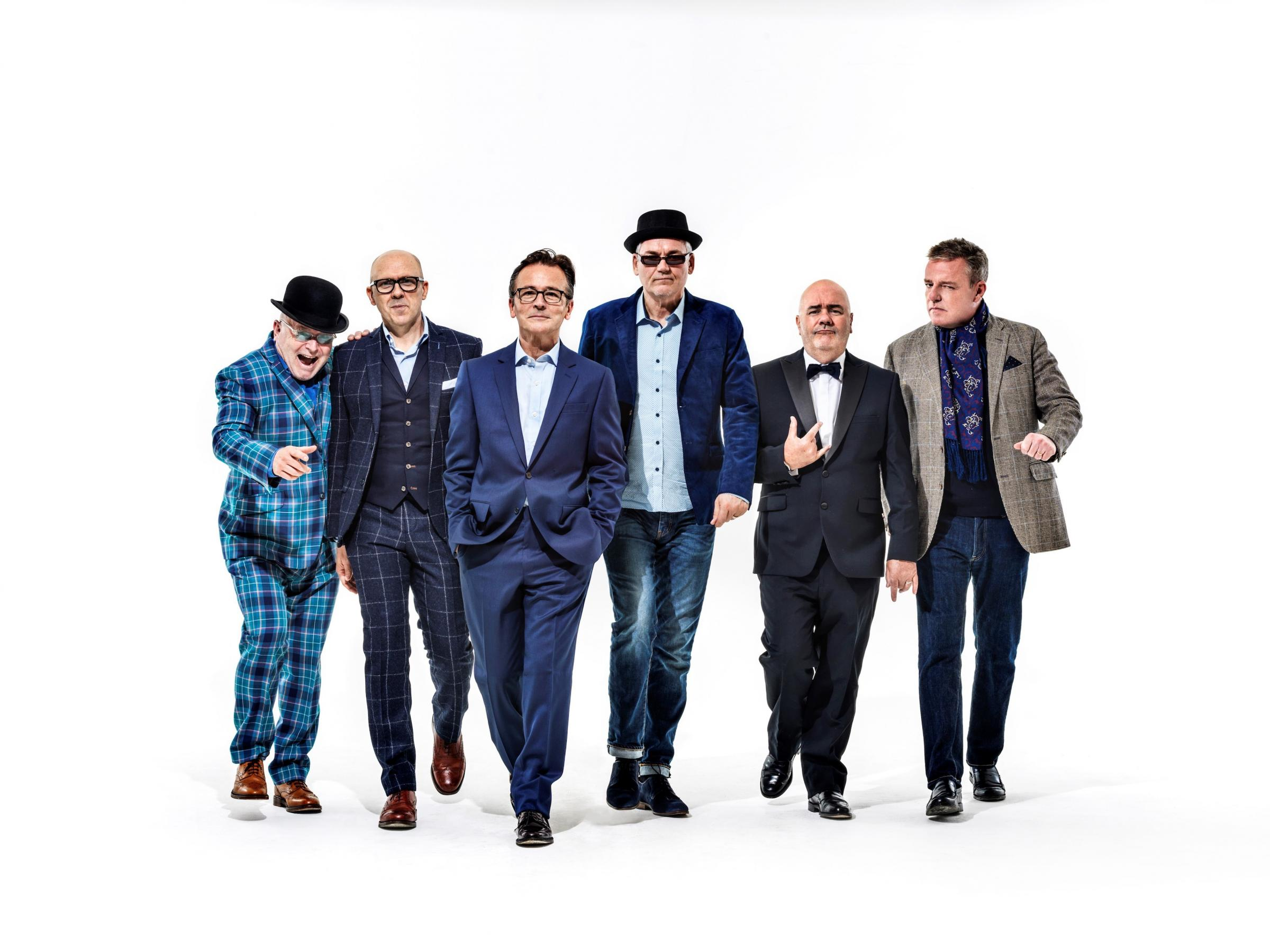 HEADING TO TAUNTON: Madness will perform in Vivary Park