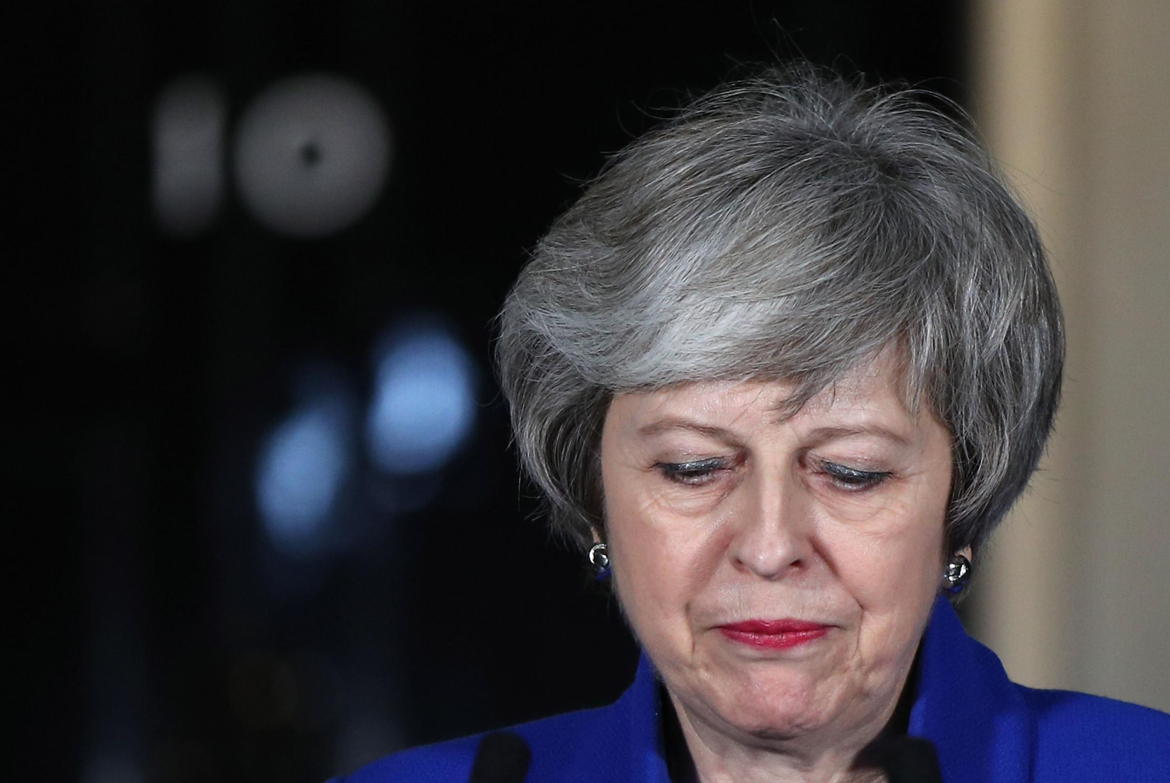 SPLIT PARTY?: Prime Minister Theresa May. PICTURE: Yui Mok/PA Wire