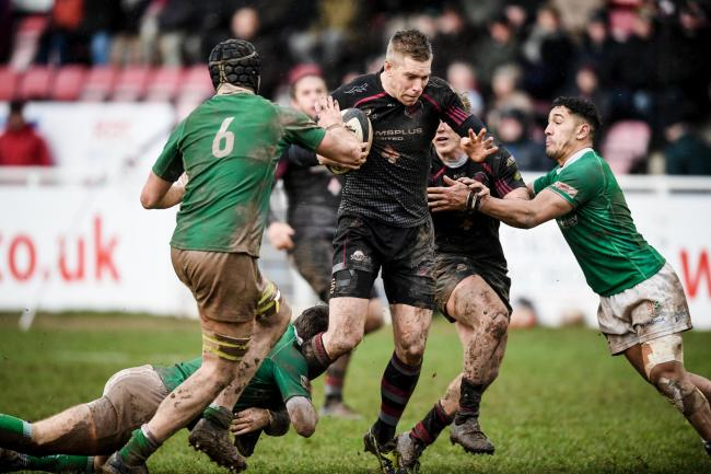 HOME WIN: Gary Kingdom helped Taunton Titans overcome London Irish Wild Geese on Saturday. Pic: Clayton Jane