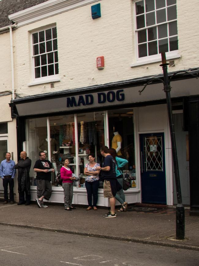 CLOSING: Mad Dog shop in Wellington