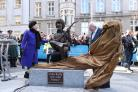 Luke Kelly statues unveiled