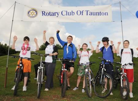 Rotary Club of Taunton 50-50 Cycle Ride, June 7, 2009