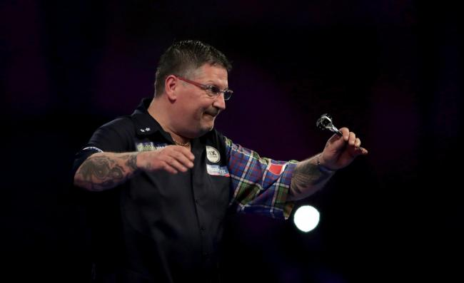 OUT: Gary Anderson will not play in the Premier League Darts event. Pic: John Walton/PA Wire
