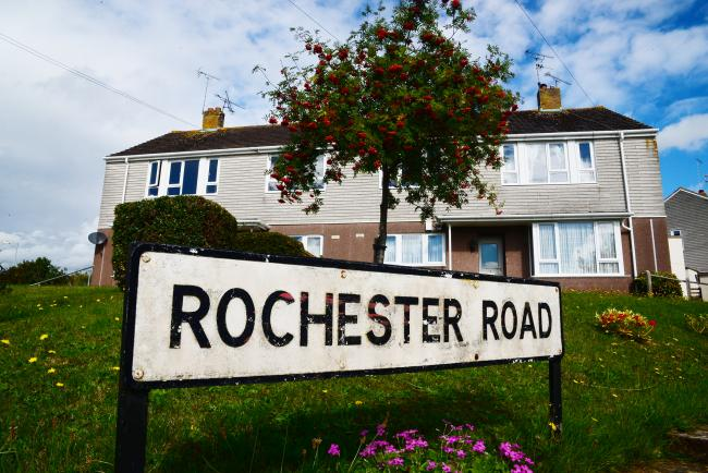 Rochester Road, where some of the Woolaway homes are based