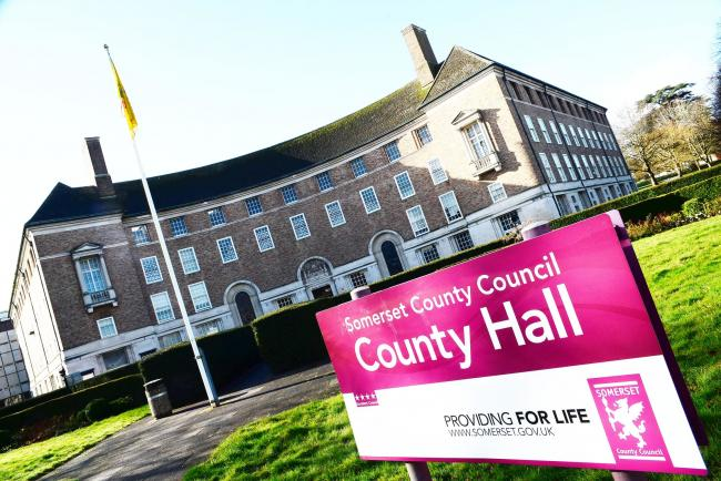 County Hall, HQ of Somerset County Council