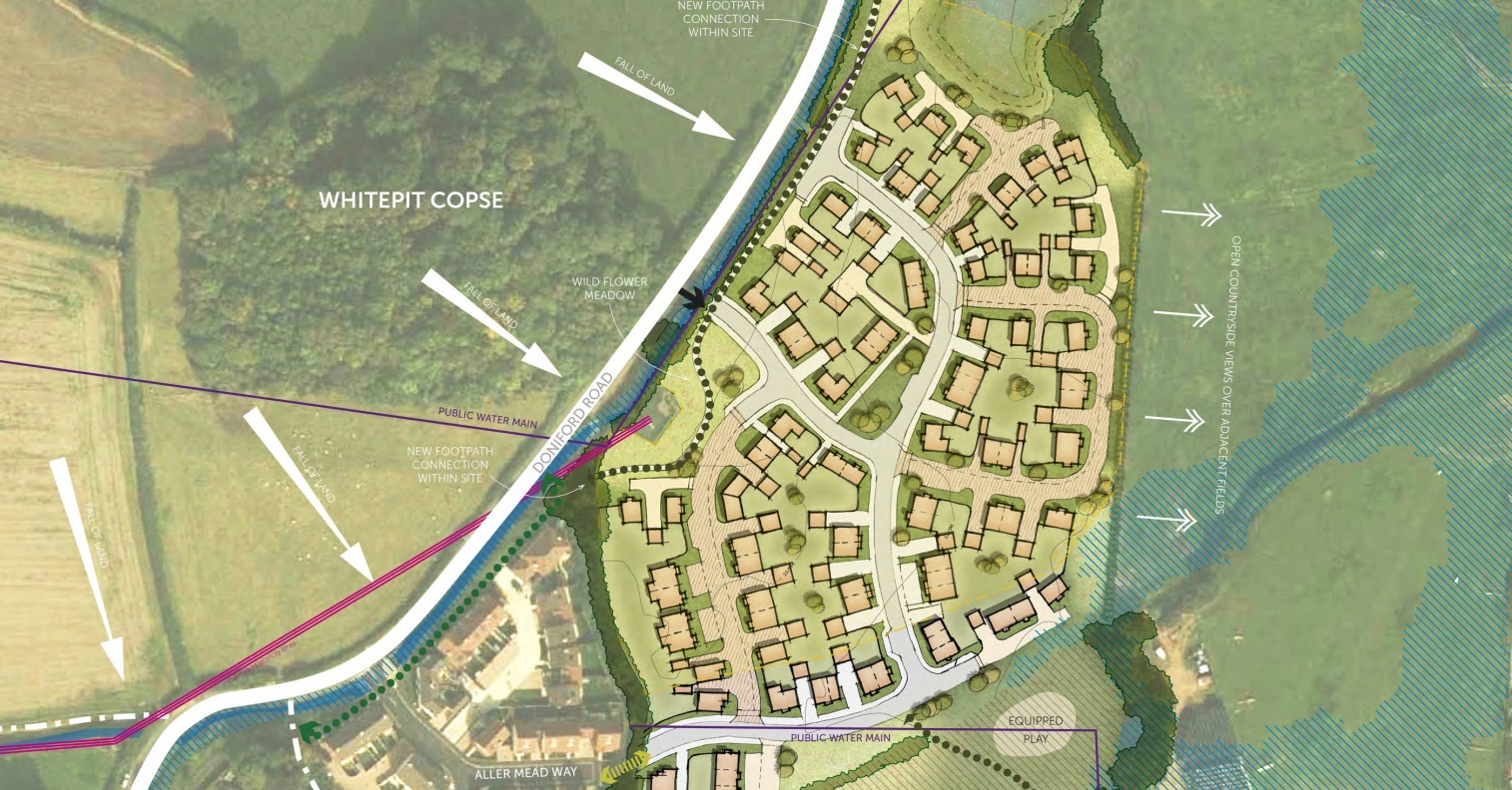 APPROVED: A plan for 90 homes for Williton has been given the initial green light