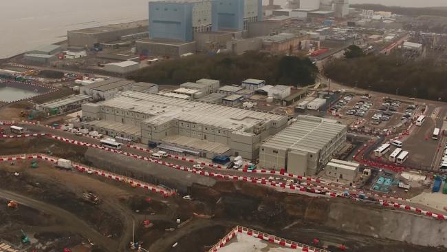 PROGRESSING: Work on Hinkley C