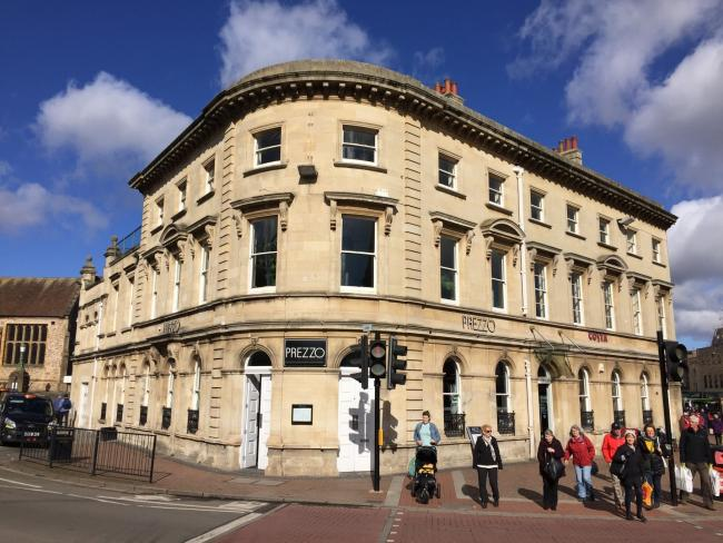 NEW PLANS: For the former Prezzo premises in Taunton