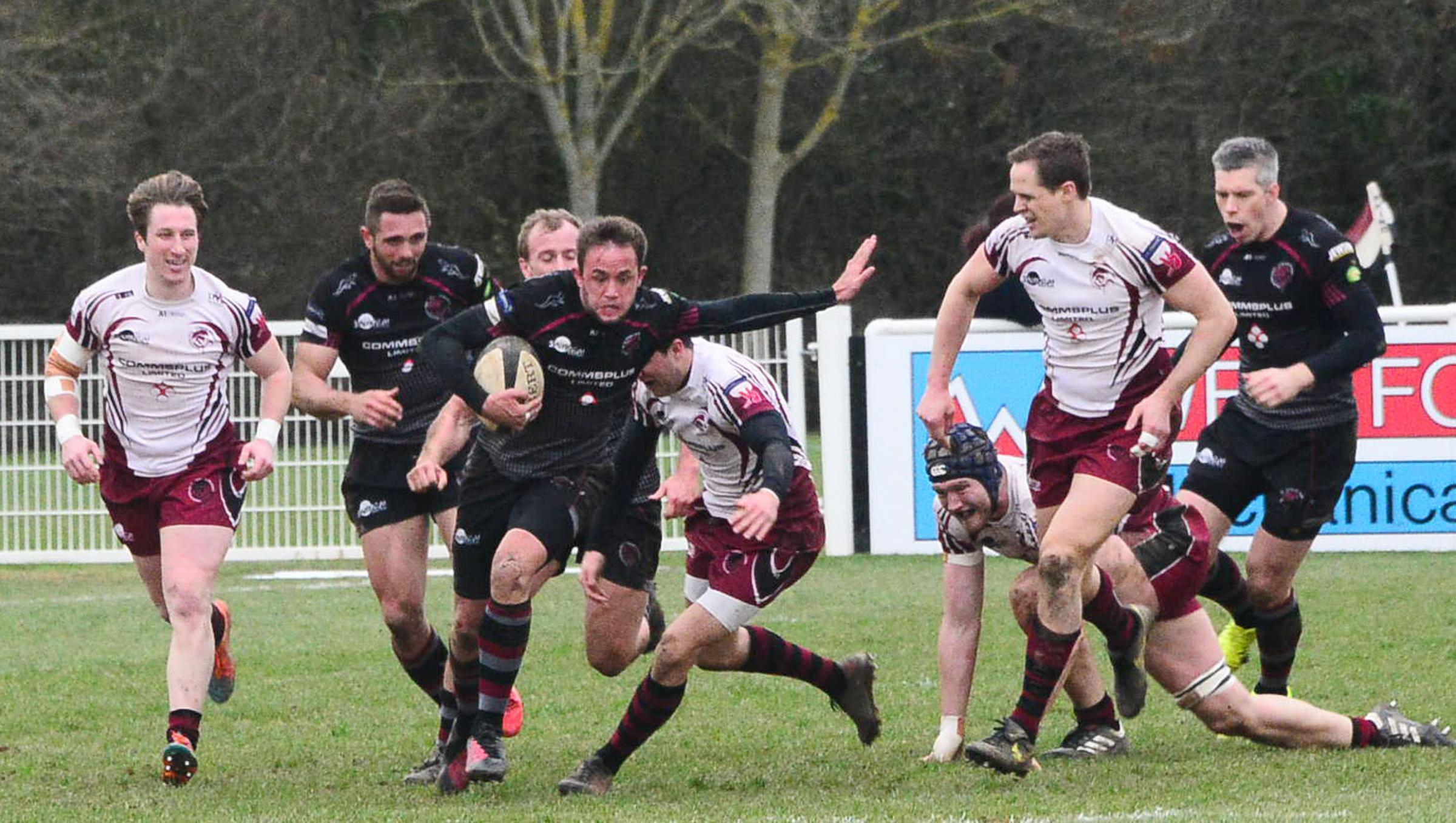DEFEATED: Taunton lost out at Rams