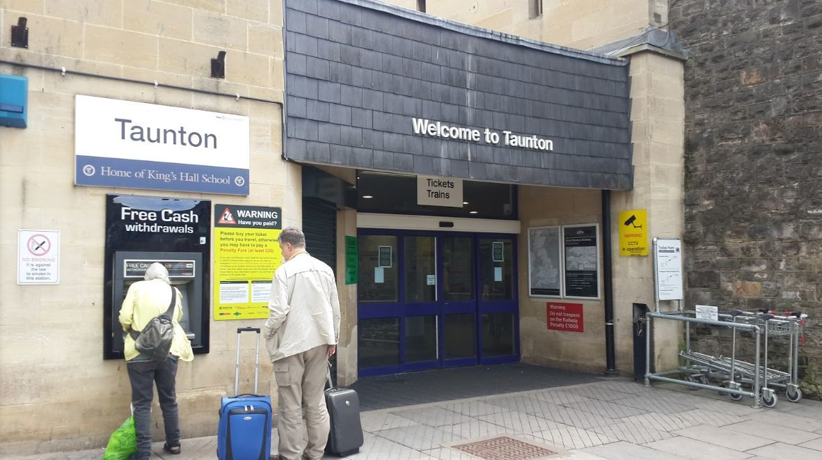 DELAYS: Multiple incidents caused dealys at Taunton Station yesterday
