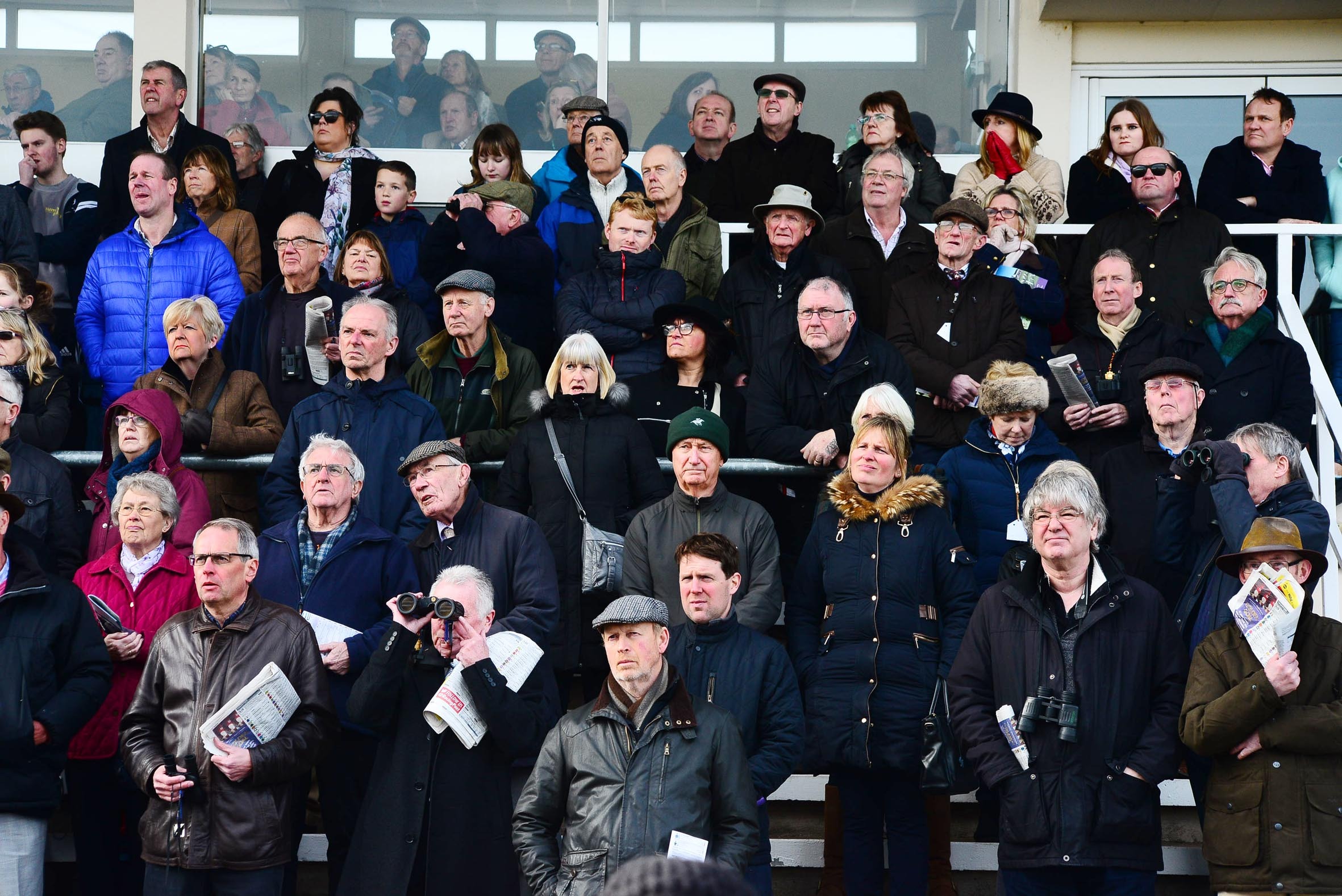 PUNTERS: Going for glory at Taunton races