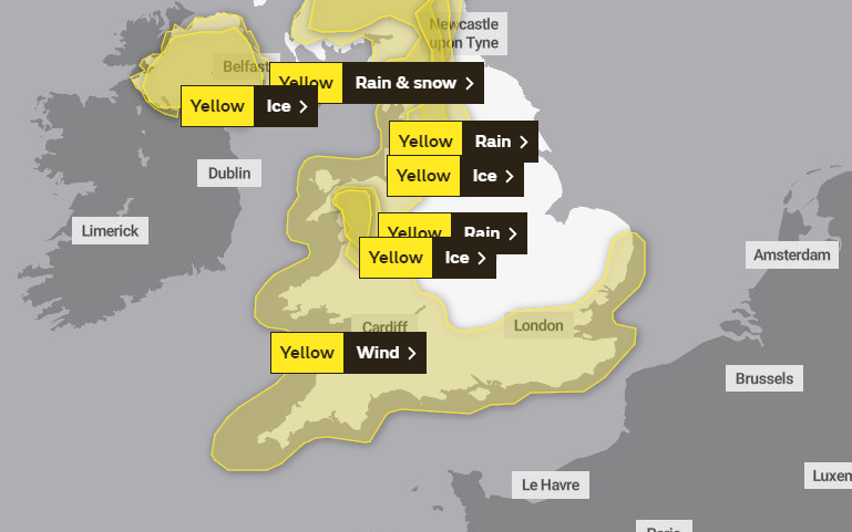 WEATHER WARNING: A yellow weather warning for wind has been issued as 'a spell of strong winds' is expected to hit Somerset
