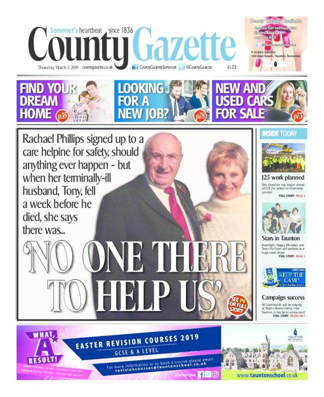 STORY: The County Gazette on March 7