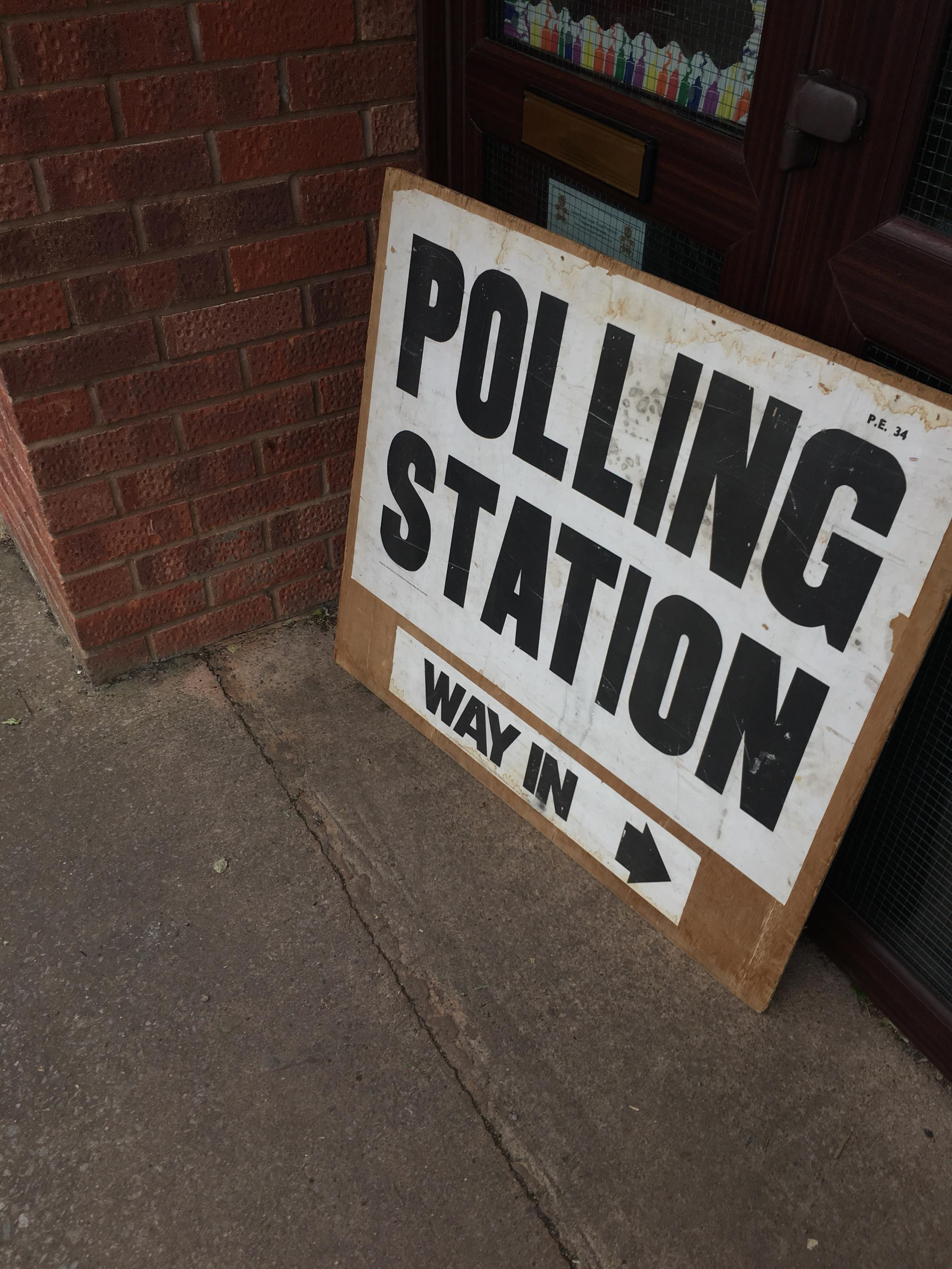 CHECK YOUR LOCATION: Poll cards will state where your polling station is