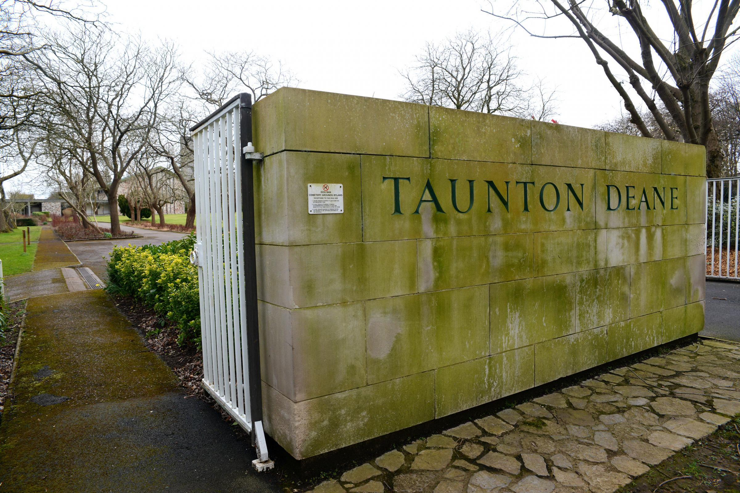 DESTINATION: Taunton Deane Crematorium, in Wellington New Road, Taunton