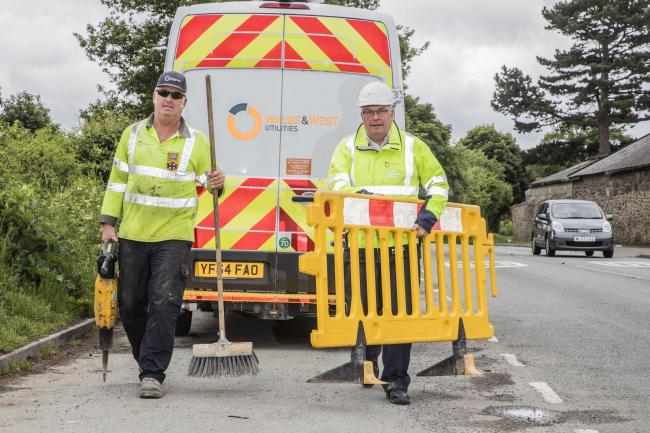 WORK AHEAD: Wales & West utilities will carry out the work in Monkton Heathfield and Cheddon Fitzpaine