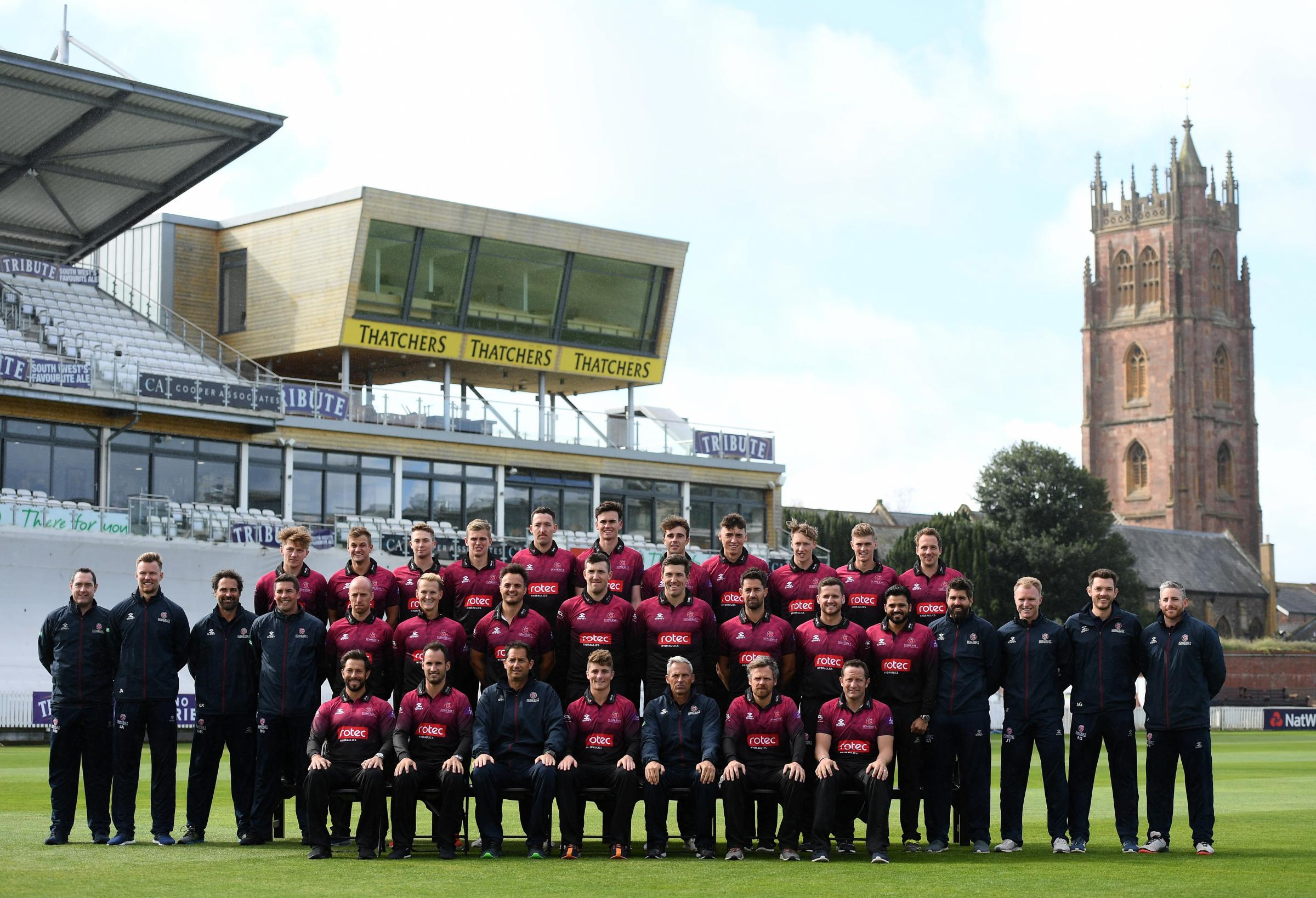 ALL SET: Somerset's Royal London One-Day Cup squad
