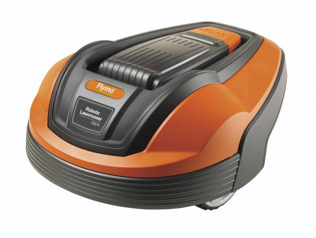 SPRING GARDENS: Flymo 1200 R robotic lawnmower. Picture: Flymo/PA