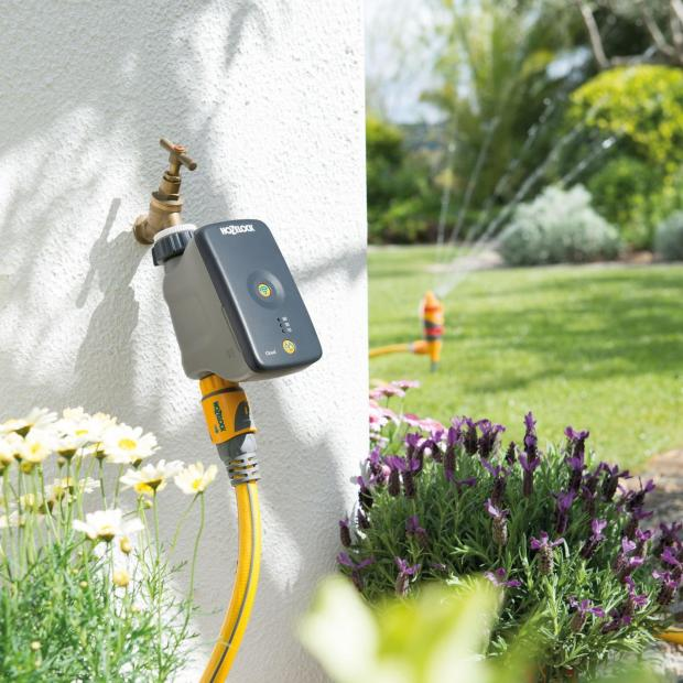 Somerset County Gazette: MOBILE WATERING: Hozelock Cloud Controller. Picture: Hozelock/PA