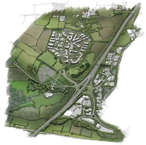 HOMES CATALYST? Plans for Nexus 25, near the land Taylor Wimpey wants to build homes on
