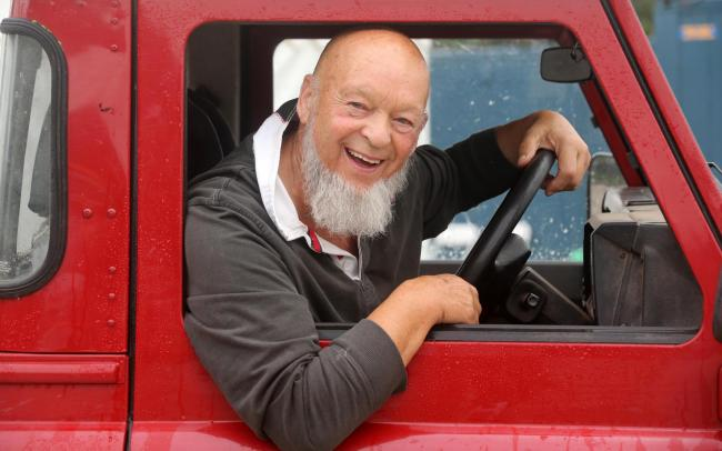 DROPPING IN: Glastonbury Festival founder, Michael Eavis. PICTURE: Jason Bryant
