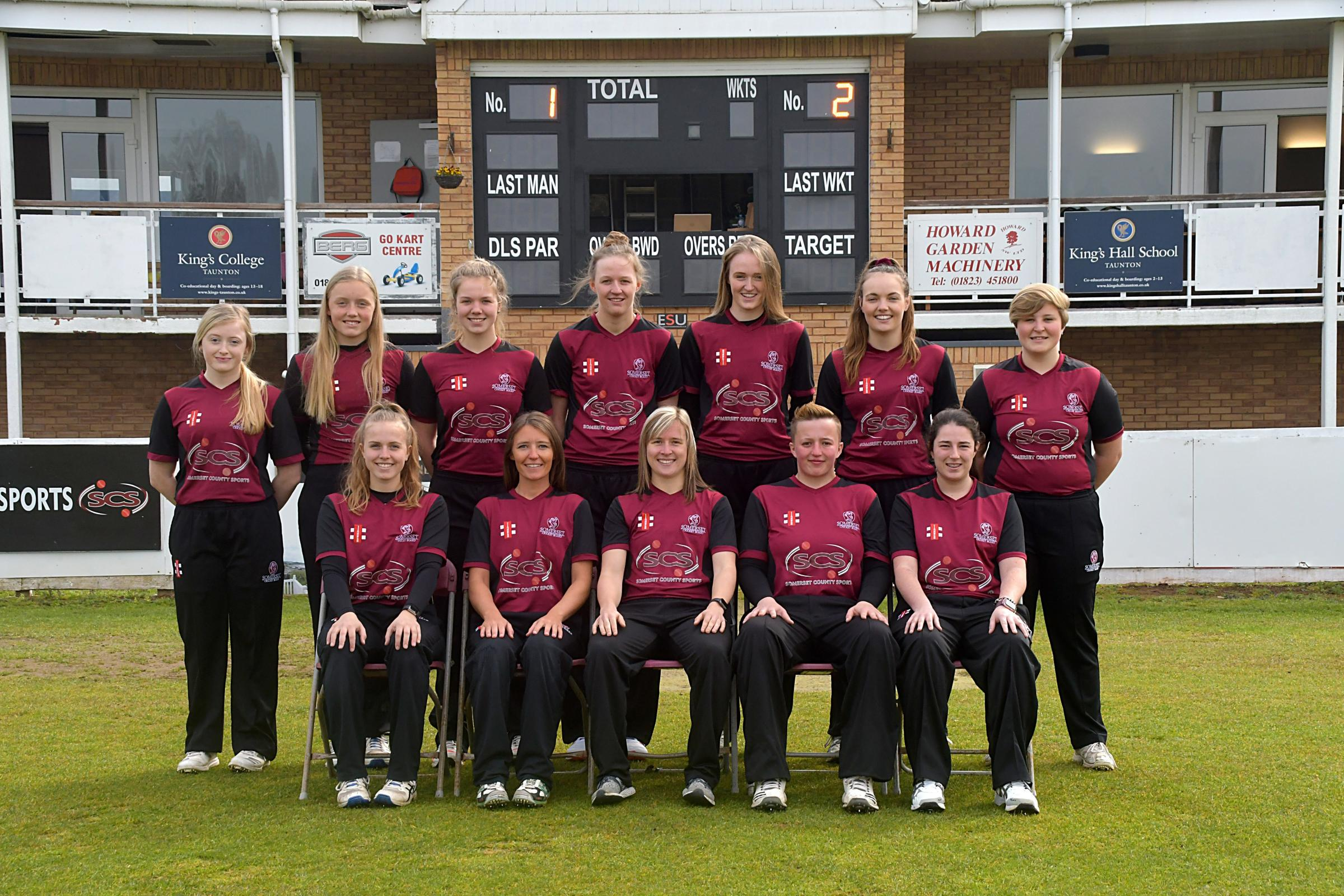 SUCCESS: Somerset Women enjoyed a thumping win over Durham on Women's County Cricket Day
