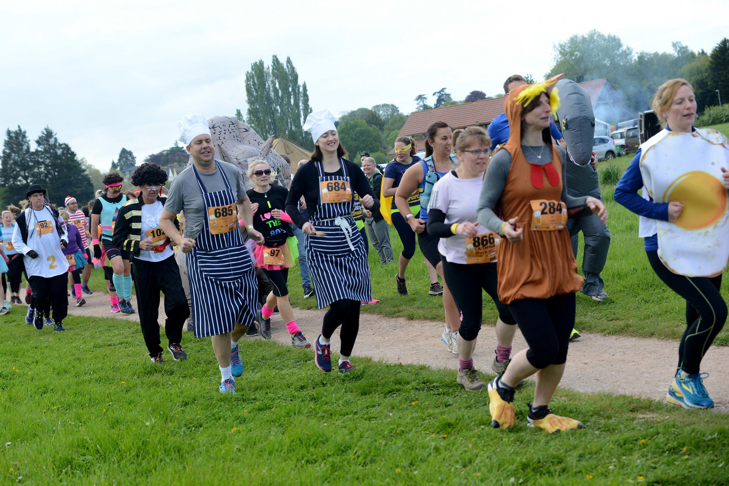 RUN: Hundreds took part in the Taunton Ciderthon over the bank holiday weekend