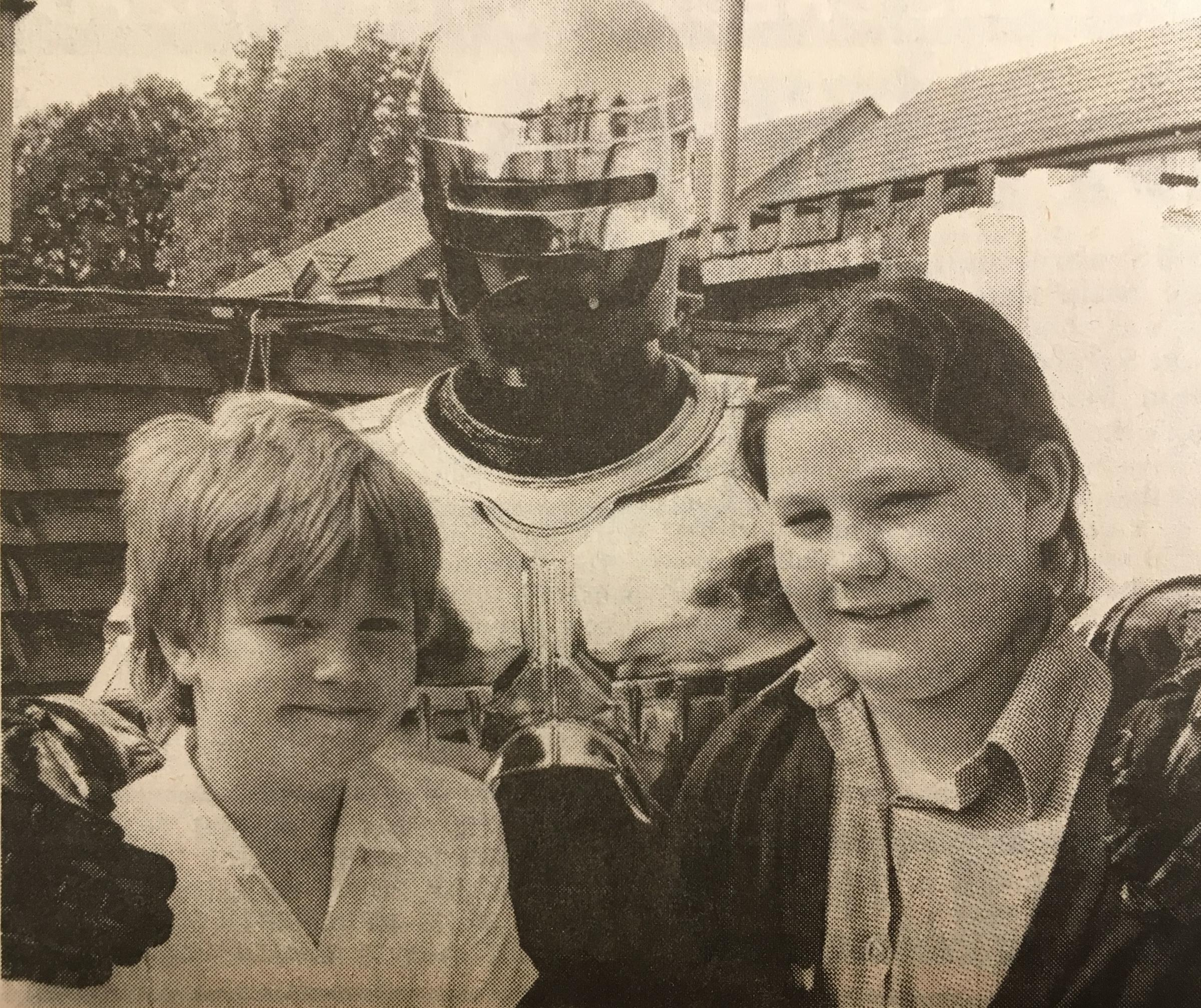 Robocop at North Town Primary School