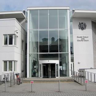 HEARING: Daniel Robinson, 34, of Conygar View, Dunster appeared before the judge at Exeter Crown Court