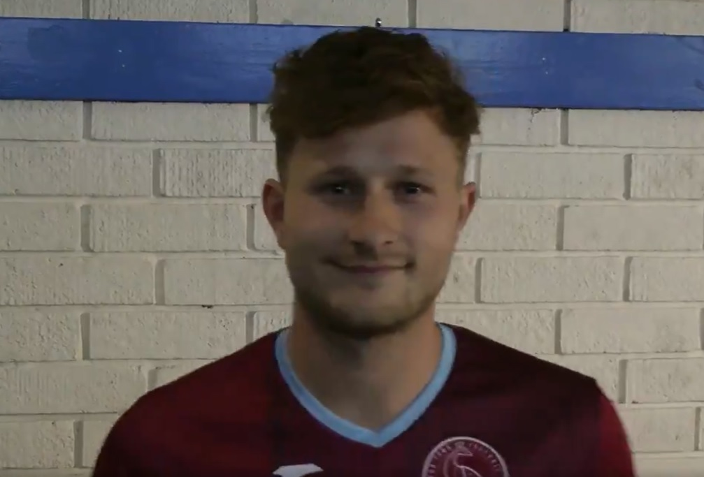 INCOMING: Jamie Short, who has returned to Taunton Town. Pic: twitter.com/tauntontownfc