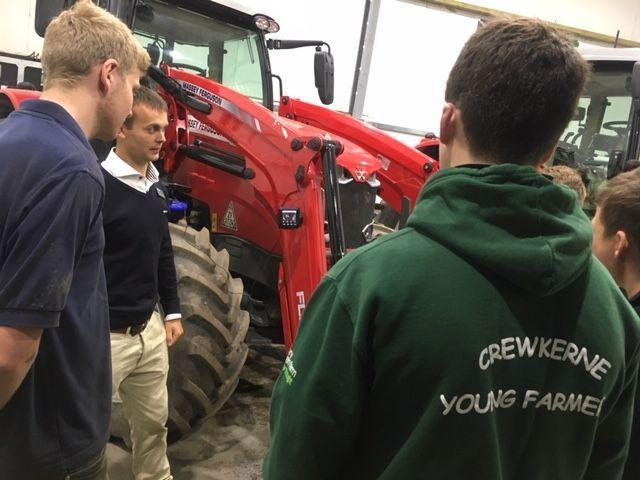 LEARNING; Somerset Young Farmers find out about the importance of agricultural machinery safety