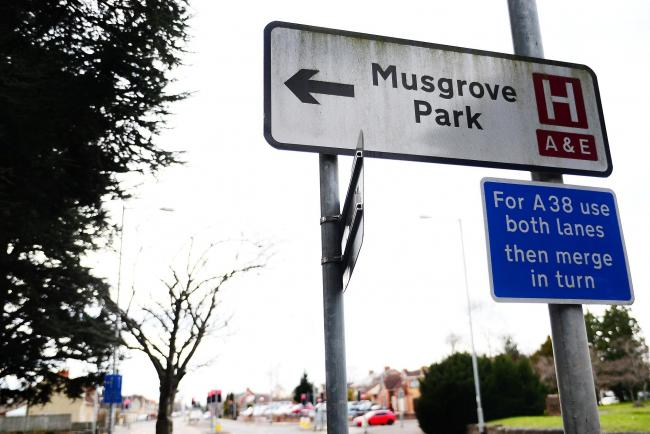 EXPENSIVE: Many staff pay for parking at Musgrove
