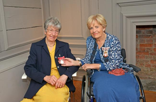 DEDICATED: Jean Humber BEM and Annie Maw