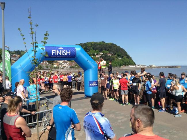 RETURN: Minehead Marathon takes place again for the first time in 20 years