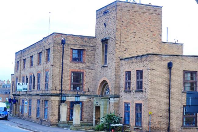 EMPTY: The former Taunton Police Station, Shuttern