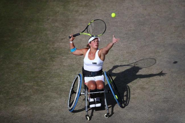 FINALIST: Lucy Shuker (pic: Tennis Foundation)