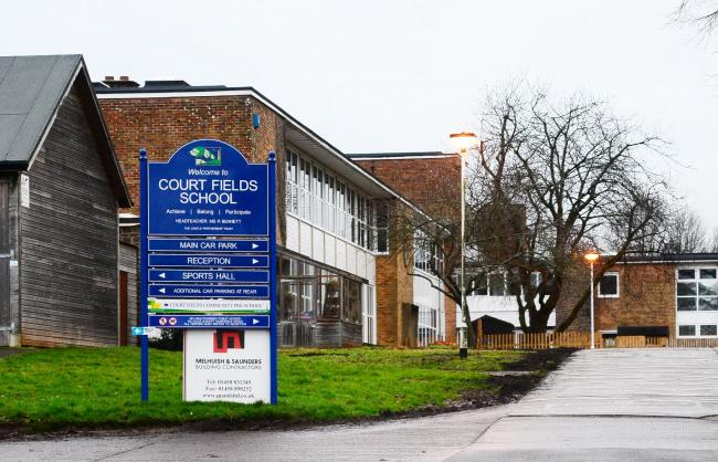 CHANGE OF LEADER: Court Fields School in Wellington