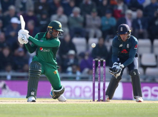 Pakistan's Fakhar Zaman during the second one day international at the Ageas Bowl, Southampton. PRESS ASSOCIATION Photo. Picture date: Saturday May 11, 2019. See PA story CRICKET England. Photo credit should read: Adam Davy/PA Wire. RESTRICTIONS: Edi