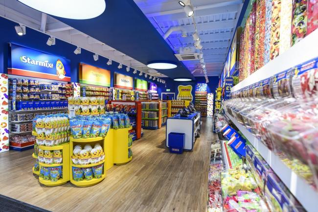 OPENING: The Haribo shop at Clarks Village