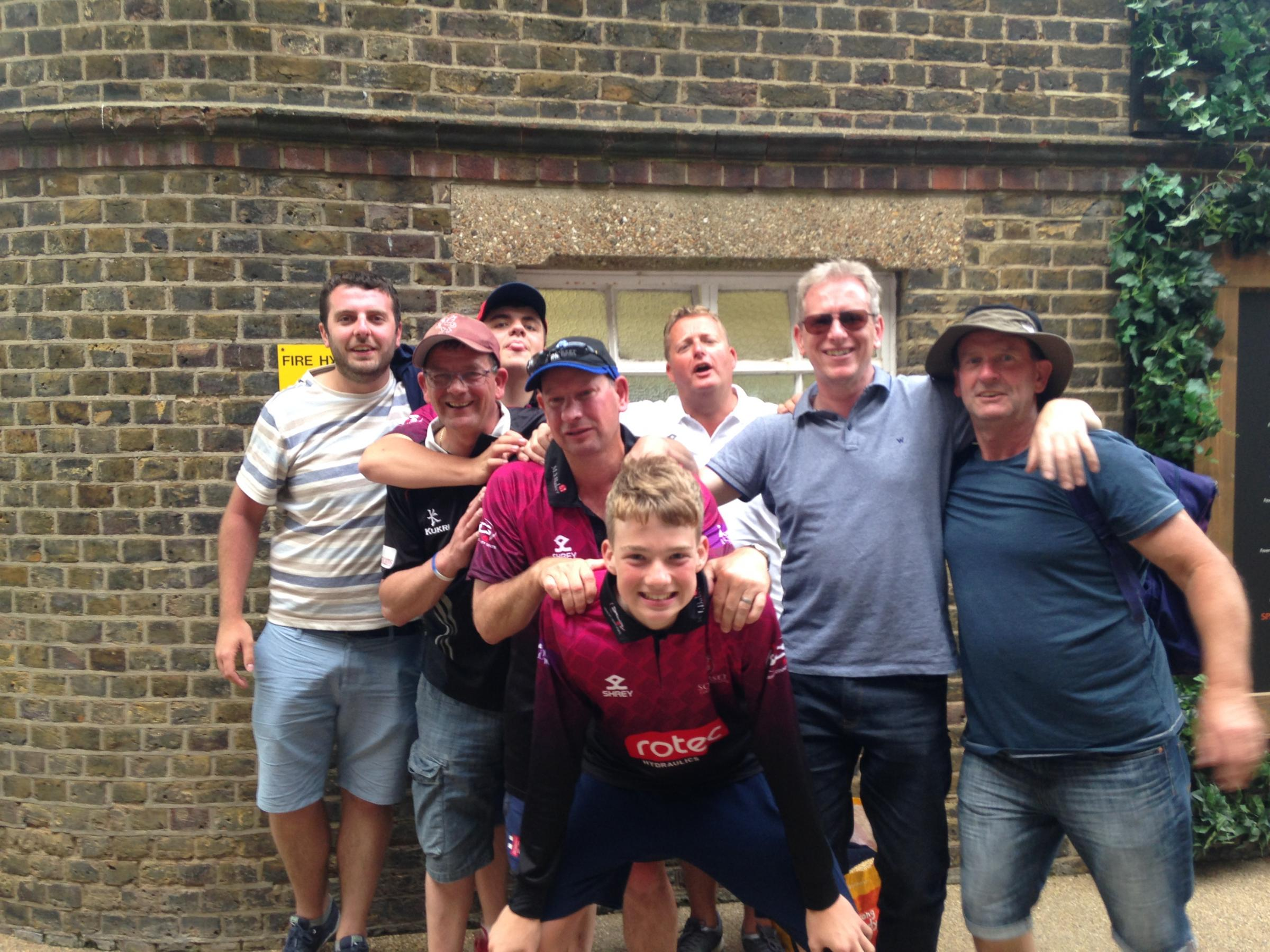 Pictures: Somerset fans at the Royal London One-Day Cup final at Lord's