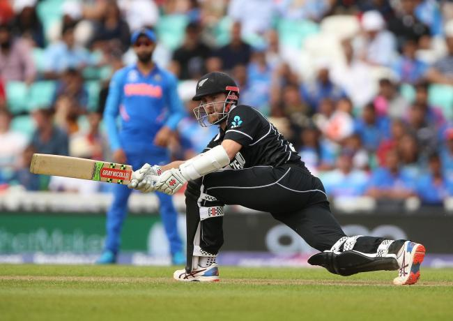 New Zealand's Kane Williamson during the ICC Cricket World Cup Warm up match at The Oval, London. PRESS ASSOCIATION Photo. Picture date: Saturday May 25, 2019. See PA story CRICKET India. Photo credit should read: Nigel French/PA Wire. RESTRICTIONS: E