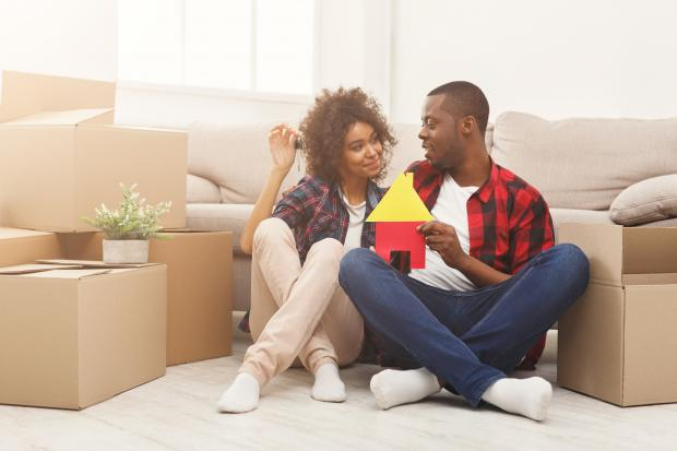 Somerset County Gazette: BUYING: A couple in the process of buying a new home. Picture: iStock/PA