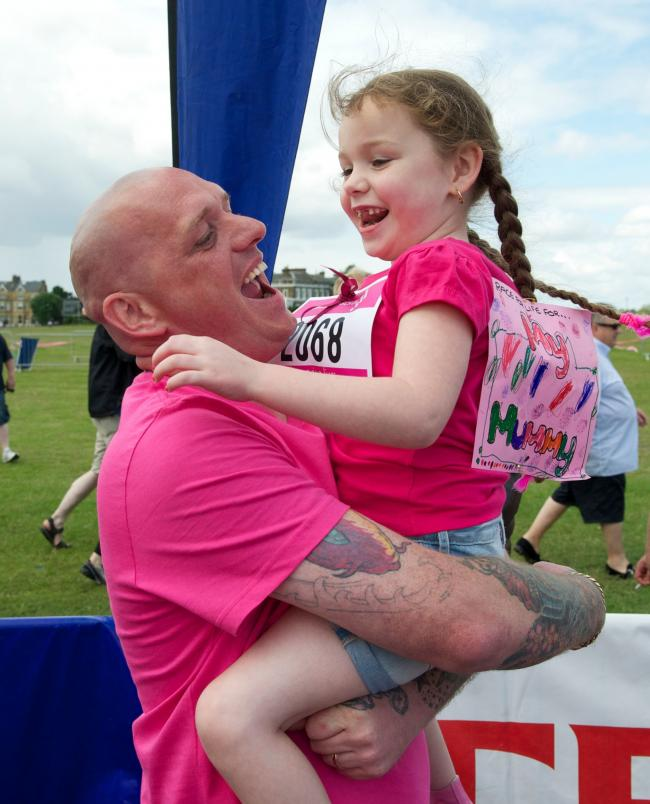 EFFORTS: Dads are being encouraged to take part in the Race For Life