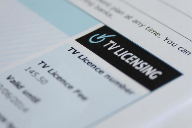NOT FOR FREE: The over-75s TV licence fee will be means tested from next year